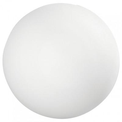 Linea Light - Oh! - Oh! - Lampada da terra a sfera da esterni M - Natural - LS-LL-15160