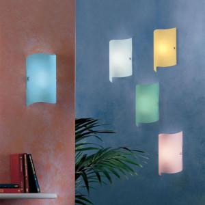 Linea Light - Onda - Onda S - Lampada rettangolare da parete