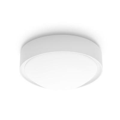 Linea Light - Outdoor - Plaf - Lampada circolare a parete o soffitto - Vetro satinato - LS-LL-7151