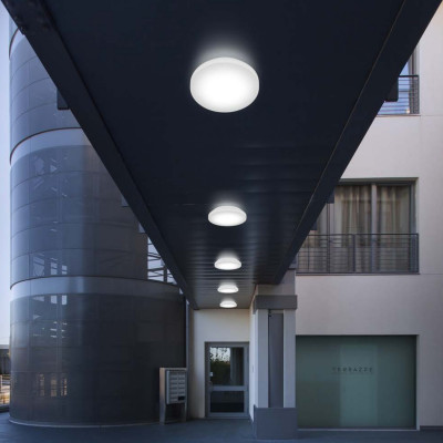 Linea Light - Outdoor - Plate LED - Lampada a parete / soffitto