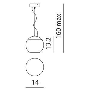 Linea Light - Pelota - Lampada a sospensione Pelota