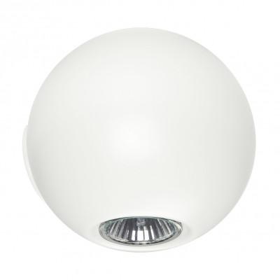 Linea Light - Pelota - Pelota - Lampada a parete biemissione - Bianco - LS-LL-6611