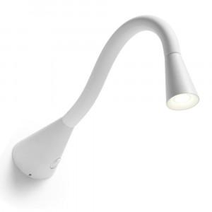 Linea Light - Snake - Snake LED - Applique led a parete snodabile L - Bianco -  - Bianco caldo - 3000 K - Diffusa
