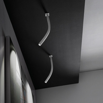 Linea Light - Snake - Snake LED - Lampada a soffitto orientabile a luce LED