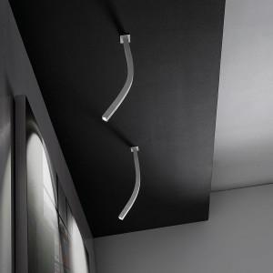 Linea Light - Snake - Snake LED - Lampada a soffitto orientabile a luce LED