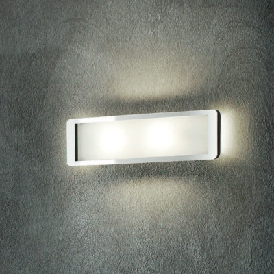 Linea Light - Solido - Solido - Lampada a parete S - Cromo - LS-LL-90261