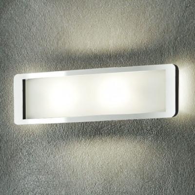 Linea Light - Solido - Solido - Lampada da parete M - Cromo - LS-LL-90262