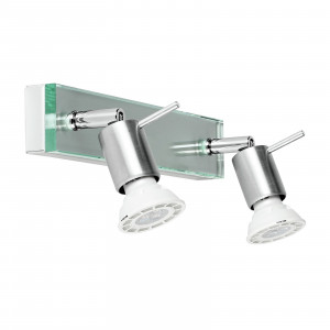 Linea Light - Spotty - Applique a faretti alogeni per parete Spotty - Cromo - LS-LL-1152