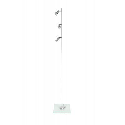 Linea Light - Spotty - Lampada da terra Spotty - Grigio alluminio - LS-LL-1158
