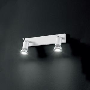 Linea Light - Spotty - Spotty - Lampada a parete o soffitto a due luci orientabili - Bianco - LS-LL-7341