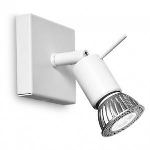 Linea Light - Spotty - Spotty - Lampada da parete o soffitto a una luce - Bianco - LS-LL-7340