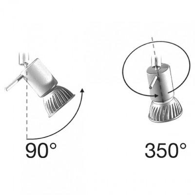 Linea Light - Spotty - Spotty - Plafoniera a 4 luci orientabili