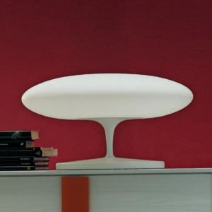 Linea Light - Squash LED - Squash TL M - Lampada da tavolo con diffusore traslucido