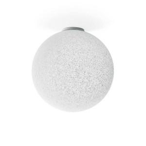 Linea Light - Stardust - Stardust S PL - Lampada sferica - Bianco graniglia -  - Bianco caldo - 3000 K - Diffusa