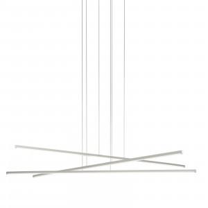 Linea Light - Straight - Straight P3 SP LED M - Lampadario a tre luci misura M
