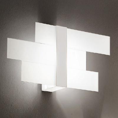 Linea Light - Triad - Triad - Applique tre vetri M - Bianco - LS-LL-90207