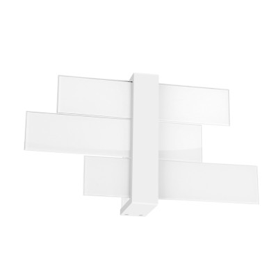 Linea Light - Triad - Triad - Applique tre vetri M - Bianco - LS-LL-90207