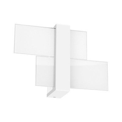 Linea Light - Triad - Triad - Lampada a parete due vetri S - Bianco - LS-LL-90206