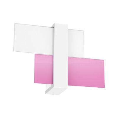 Linea Light - Triad - Triad - Lampada a parete due vetri S - Lilla - LS-LL-90222