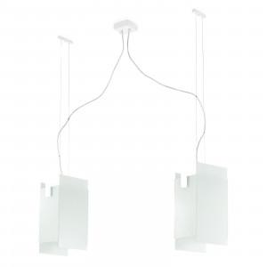 Linea Light - Triad - Triad - Lampada a sospensione due luci - Bianco - LS-LL-90211