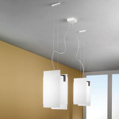 Linea Light - Triad - Triad - Lampada noce a sospensione due luci
