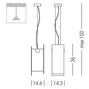 Linea Light - Triad - Triad - Lampada noce a sospensione