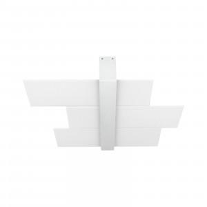Linea Light - Triad - Triad - Plafoniera moderna tre vetri S - Bianco - LS-LL-90208