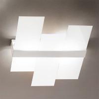 Linea Light - Triad - Triad - Plafoniera moderna tre vetri S