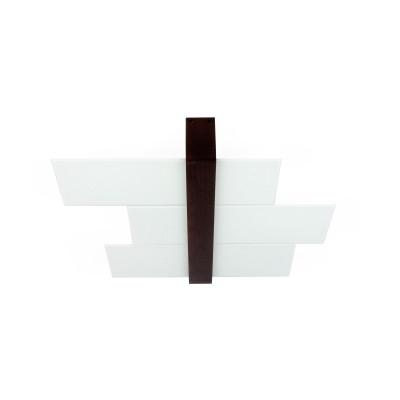 Linea Light - Triad - Triad - Plafoniera noce parete tre vetri S - Wengè - LS-LL-90230