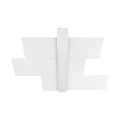 Linea Light - Triad - Triad - Plafoniera soffitto tre vetri M - Bianco - LS-LL-90209
