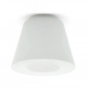 Linea Light - Vulcanino e Vulcanone - Vulcanino & Vulcanone LED PL S - Lampada da soffitto a cono tronco - Natural -  - Bianco caldo - 3000 K - Diffusa