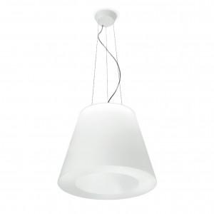 Linea Light - Vulcanino e Vulcanone - Vulcanino & Vulcanone LED SP M - Sospensione a forma di cono tronco