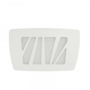 Linea Light - Zebra - Zebra S AP PL LED L - Applique e plafoniera quadrata misura L - Bianco -  - Bianco caldo - 3000 K - Diffusa
