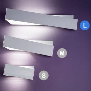 Linea Light - Zig Zag - Zig Zag lampada a parete L