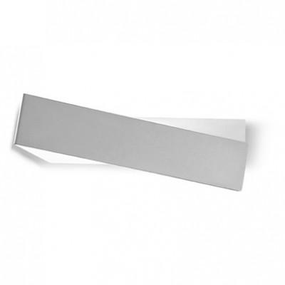 Linea Light - Zig Zag - Zig Zag lampada a parete M - Alluminio anodizzato - LS-LL-6990