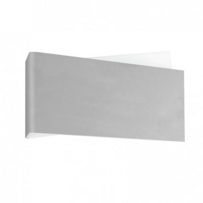 Linea Light - Zig Zag - Zig Zag lampada a parete S - Alluminio anodizzato - LS-LL-7001