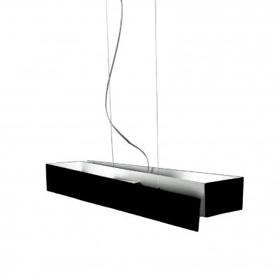 Linea Light - Zig Zag - Zig Zag lampada a sospensione - Bianco/Nero - LS-LL-6994