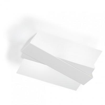 Linea Light - Zig Zag - Zig Zag - Plafoniera da soffitto e a parete M - Bianco - LS-LL-7290