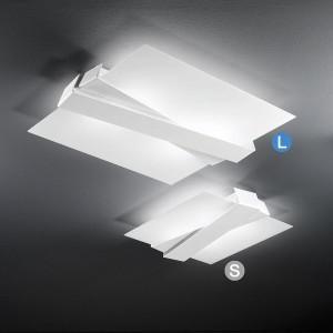 Linea Light - Zig Zag - Zig Zag - Plafoniera da soffitto e da parete L