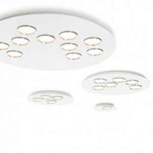 Lumen Center - Brick e Brac - Brac 6 PL - Lampada da soffitto rotonda a sei luci LED
