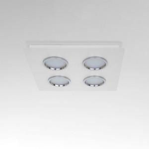 Lumen Center - Brick e Brac - Brick Quadro 4 PL - Plafoniera di design quadrata quattro luci LED