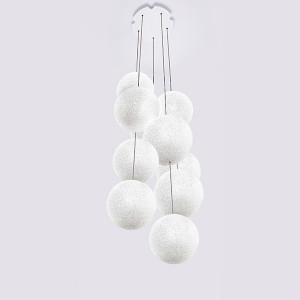 Lumen Center - Iceglobe - Iceglobe Bubble 10 SP - Sospensione da dieci luci