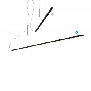 Lumen Center - Sibylla - Sibylla L SP - Lampada a sospensione LED con intensità luminosa variabile