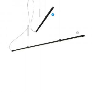 Lumen Center - Sibylla - Sibylla S SP - Lampadario LED con intensità luminosa regolabile