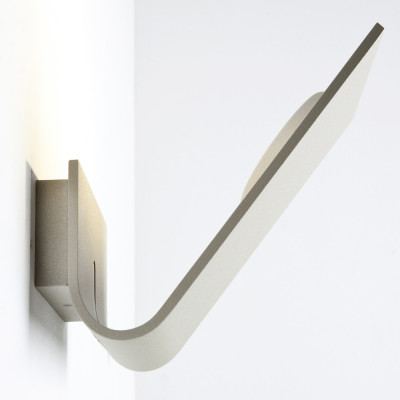 Lumen Center - Virgola - Virgola AP LED - Applique a led - Grigio sabbia - LS-LC-VIR26115R