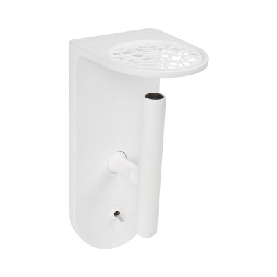 Ma&De - 2Nights - 2Nights W2 AP LED on/off switch - Lampada a parete a Led con interruttore on/off integrato - Bianco/Bianco -  - Bianco caldo - 3000 K - 70°
