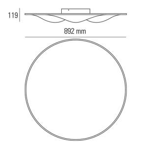 Ma&De - Circle Wave - Circle Wave - Plafoniera M