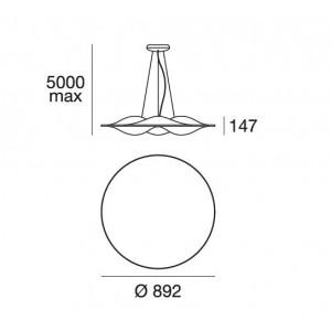 Ma&De - Circle Wave - Circle Wave - Sospensione M