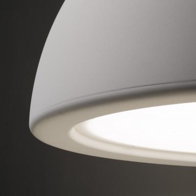 Ma&De - Entourage - Entourage P1 SP S LED - Lampadario piccolo a cupola a luce LED dimmerabile - Gesso -  - Warm Tune - Diffusa