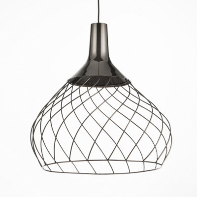 Ma&De - Mongolfier - Mongolfier P2 SP LED - Lampadario elegante a LED - Nichel nero -  - Warm Tune - Diffusa